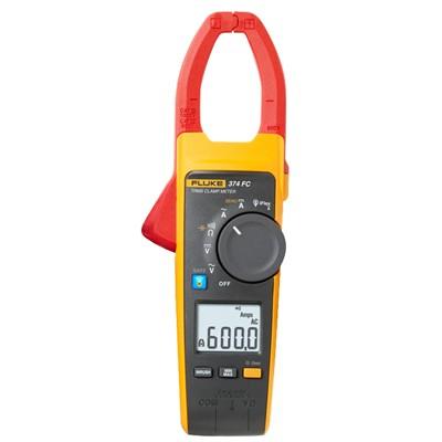 Fluke 374 FC Clamp Meter - AC/DC, True-RMS, Inrush Measurement w/ Fluke Connect®