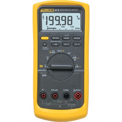 DMM - 20,000 Count, True RMS, Temperature