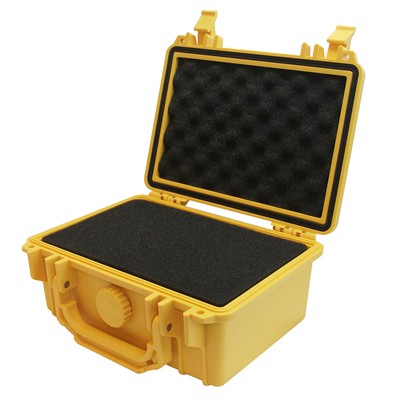 """Protective Case 1100 with foam, 8.3 x 6.6 x 3.5"""", Yellow"""