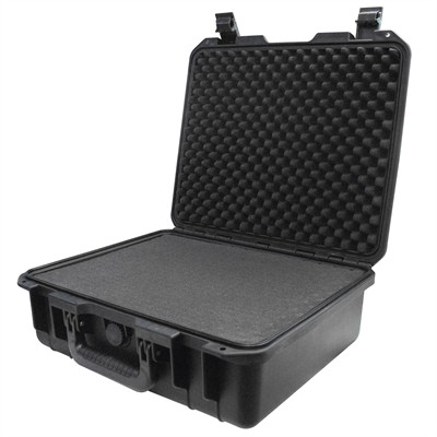 """Protective Case 1500 with foam, 16.9 x 15 x 6.1"""", Black"""
