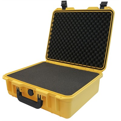 """Protective Case 1500 with foam, 16.9 x 15 x 6.1"""", Yellow"""