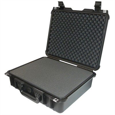 """Protective Case 1400 with foam, 16.5 x 12.9 x 6.8"""", Black"""