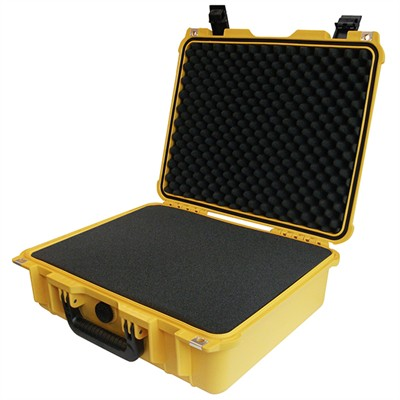 "Protective Case 1505 with foam, 16.9 x 15 x 6.1"", Yellow"