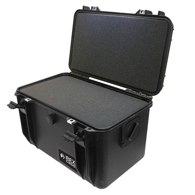 "IBEX Protective Case 1560 with foam, 16.9 x 11.1 x 10.8"", Black"
