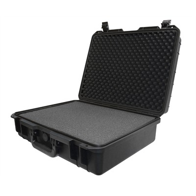 """Protective Case 1600 with foam, 20.3 x 16.3 x 6.5"""", Black"""