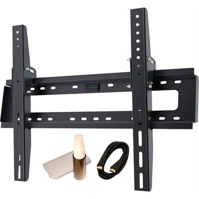 "Mount for 17-37"" LCD and LED TV's - w/ Tilt - BONUS Includes HDMI Cable & Cleaning Kit"