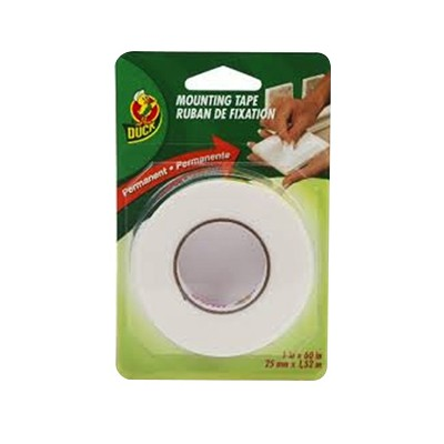 """Double Sided Mounting Tape, 1"""" x 60"""""""