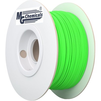 1.75mm PLA Filament - Glow in the Dark Green, 1kg