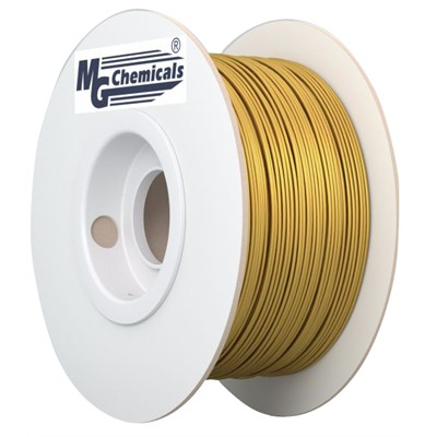 1.75mm PLA Filament - Gold, 1kg