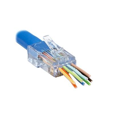 ezEX®44 - ezEX-RJ45® CAT6 Connector, Pkg/50