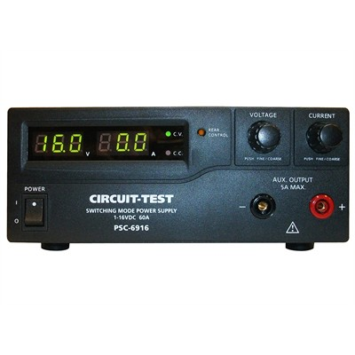 Single Output - Switching Power Supply (16VDC/60A), Remote Programmable