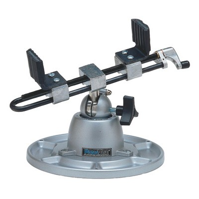 PANAVISE Wide Opening Head with Base & Mount