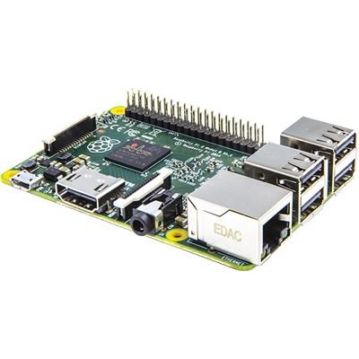 Raspberry Pi 2,  Model B - 900MHz Quad-Core, 1GB Ram