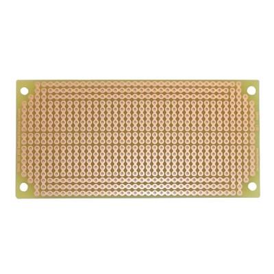 Solderable Breadboard - 47 x 95mm, 400 points