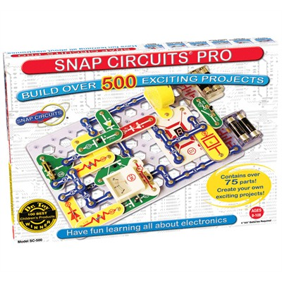 Snap Circuits Kit - 500 Projects