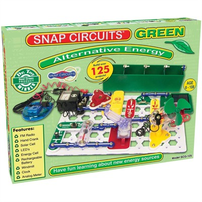 Snap Circuits Green - 125 Alternative Energy Projects