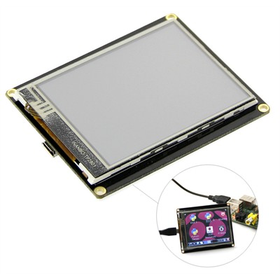"""2.8"""" TFT LCD Resistive Touch Display - USB"""