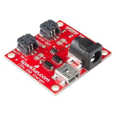 USB LiPo Battery Charger - Single Cell 100mA/500mA