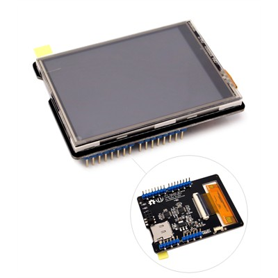 2.8'' TFT Resistive Touch Shield v2.0