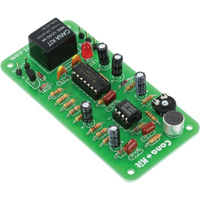 Clap-On/Off Relay Switch - Assembled