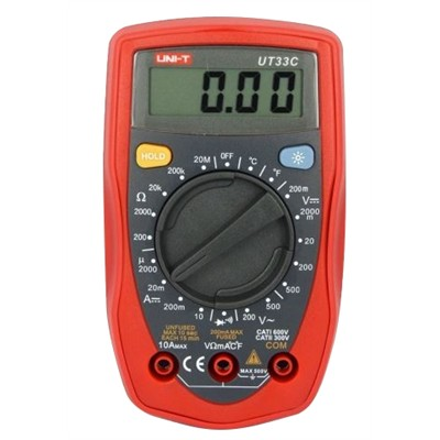 DMM - Basic, Palm size, Manual ranging