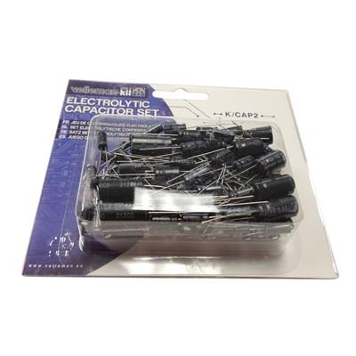 Electrolytic Capacitor Kit - 120pcs