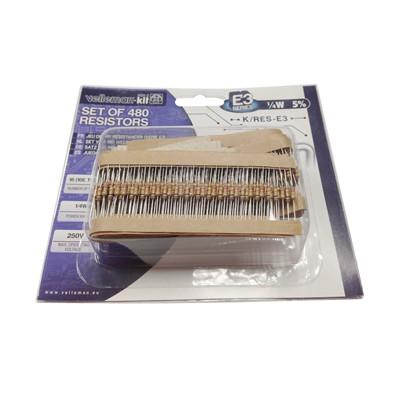 Resistor Kit - 480pcs