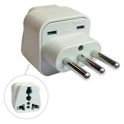 Wa 12a 3 Conductor Plug Italy Travel Adapter